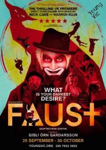 Faust, Björn Hlynur Haralsson, Vesturport Theatre and Film, Director Gísli Örn Garðarsson
