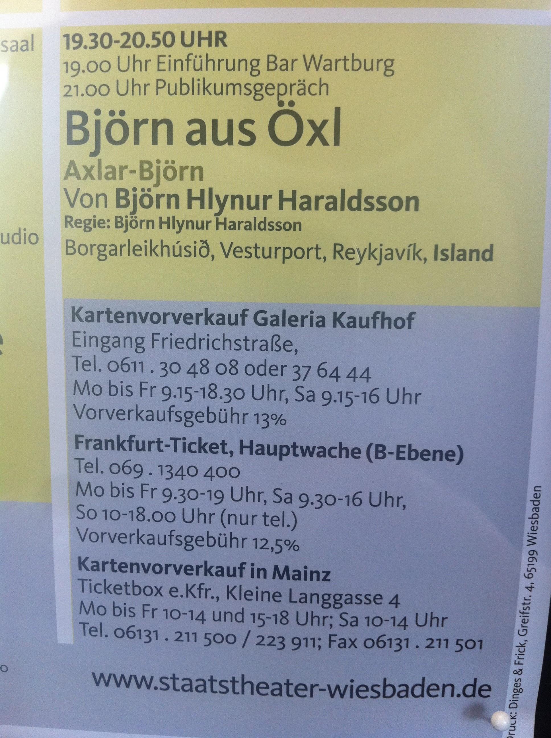 Björn aus Öxl